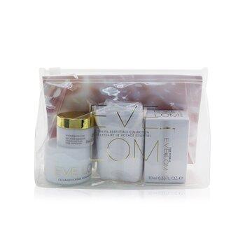 Travel Essentials Collection: Cleanser 20ml+ Moisture Cream 8ml+ Time Retreat Radiance Essence 10ml+ Cloth (4pcs)