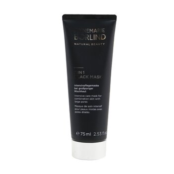 2 In 1 Black Mask - Intensive Care Mask For Combination Skin with Large Pores (75ml/2.53oz)