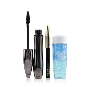 Hypnose Volume A Porter Mascara Set (1x Mascara 6.5ml, 1x Mini Le Crayon Khol 0.7g, 1x Bi Facil 30ml) (3pcs)