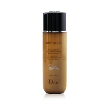 Dior Bronze Liquid Sun Self-Tanning Water Sublime Glow For Body (100ml/3.4oz)