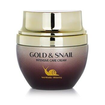 Gold & Snail Intensive Care Cream (Whitening/ Anti-Wrinkle) (55g/1.94oz)