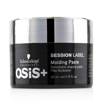 Osis+ Session Label Molding Paste - Remoldable Shaping Paste (Exp. Date: 06/2021) (65ml/2.19oz)