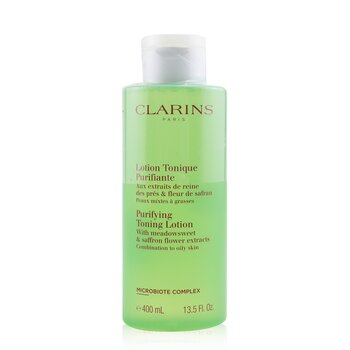 Purifying Toning Lotion with Meadowsweet & Saffron Flower Extracts - Combination to Oily Skin (400ml/13.5oz)