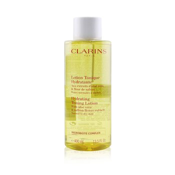 Hydrating Toning Lotion with Aloe Vera & Saffron Flower Extracts - Normal to Dry Skin (400ml/13.5oz)