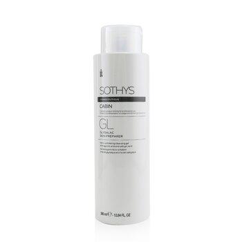 Cosmeceutique GL Glysalac Skin Preparer Micro-Exfoliating Cleansing Gel - With Glycolic Acid & Salicylic Acid (Salon Size) (400ml/13.5oz)