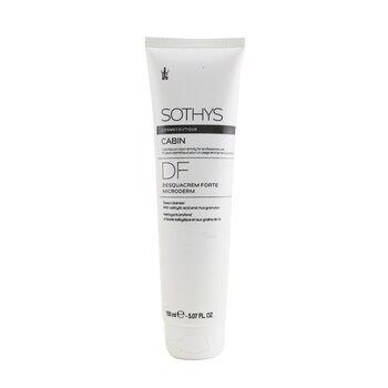 Cosmeceutique DF Desquacrem Forte Microderm Deep Cleanser - With Salicylic Acid & Rice Granules (Salon Size) (150ml/5.07oz)