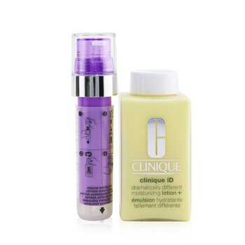 Clinique iD Dramatically Different Moisturizing Lotion+ + Active Cartridge Concentrate For Lines & Wrinkles (Purple) (125ml/4.2oz)