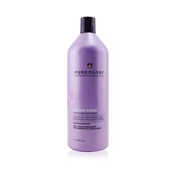 Hydrate Sheer Conditioner - For Fine, Dry, Color-Treated Hair (Bottle Slightly Crushed) (1000ml/33.8oz)