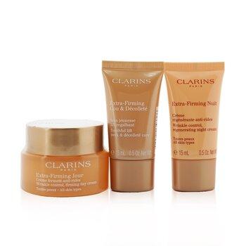 Extra-Firming Collection: Day Cream 50ml + Night Cream 15ml + Neck & Decollete Care 15ml (3pcs)