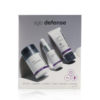 Age Defense Kit: Daily Superfoliant 13g+ Biolumin-C Serum 10ml+ Dynamic Skin Recovery SPF 50 12ml (3pcs)