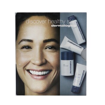 Discover Healthy Skin Kit: Precleanse 30ml+ Special Cleansing Gel 15ml+ Daily Microfoliant 13g+ Skin Smoothing Cream 15ml (4pcs)