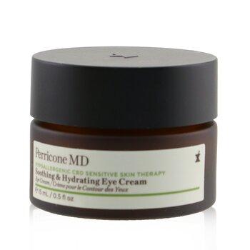 Hypoallergenic CBD Sensitive Skin Therapy Soothing & Hydrating Eye Cream (15ml/0.5oz)