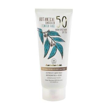 Botanical Sunscreen SPF 50 Tinted Face BB Cream - Rich to Deep (89ml/3oz)