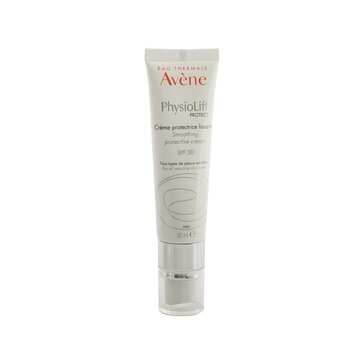 PhysioLift PROTECT Smoothing Protective Cream SPF 30 - For All Sensitive Skin Types (30ml/1oz)