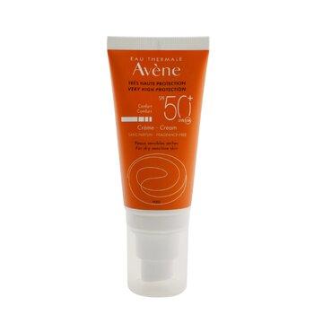 Very High Protection Comfort Cream SPF 50 - For Dry Sensitive Skin (Fragrance Free) (50ml/1.7oz)