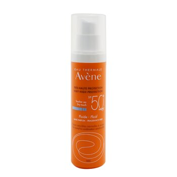 Very High Protection Dry Touch Fluid SPF 50 - For Normal to Combination Sensitive Skin (Fragrance Free) (50ml/1.7oz)