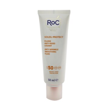 Soleil-Protect Anti-Wrinkle Smoothing Fluid SPF 50 UVA & UVB (Visibly Reduces Wrinkles) (50ml/1.69oz)