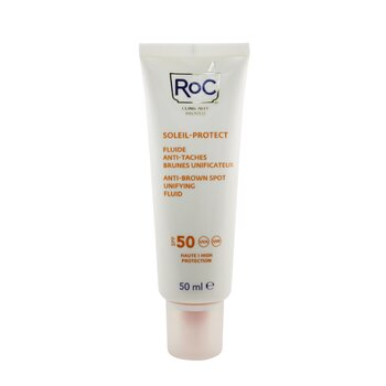 Soleil-Protect Anti-Brown Spot Unifying Fluid SPF 50 UVA & UVB (Visibly reduces Brown Spots) (50ml/1.69oz)