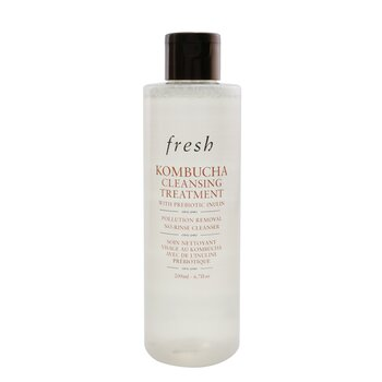 Kombucha Cleansing Treatment With Prebiotic Inulin - Pollution Removal No-Rinse Cleanser (200ml/6.7oz)