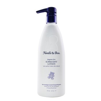 Super Soft Lotion - Fragrance Free - For Face & Body  (Dermatologist-Tested & Hypoallergenic) (473ml/16oz)