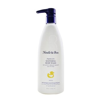 Soothing Body Wash - Fragrance Free (Dermatologist-Tested & Hypoallergenic) (473ml/16oz)