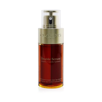 Double Serum (Hydric + Lipidic System) Complete Age Control Concentrate (Deluxe Edition) - Box Slightly Damaged (75ml/2.5oz)