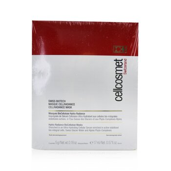 Cellcosmet Swiss Biotech CellRadiance Mask (Exp. Date: 01/2022) (5 Sachets)