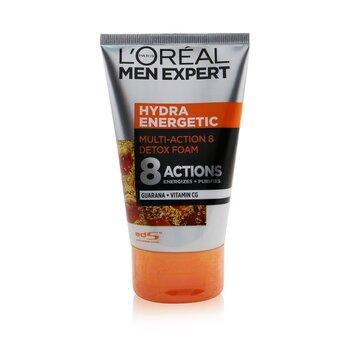 Hydra Energetic Multi-Action 8 Detox Foam (100ml/3.38oz)