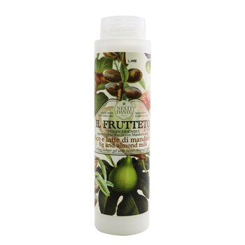 Il Frutteto Soothing Shower Gel With Sweet Almond Protein, Fig & Almond Milk (300ml/10.2oz)