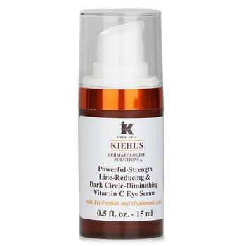 Dermatologist Solutions Powerful-Strength Line-Reducing & Dark Circle-Diminishing Vitamin C Eye Serum (15ml/0.5oz)