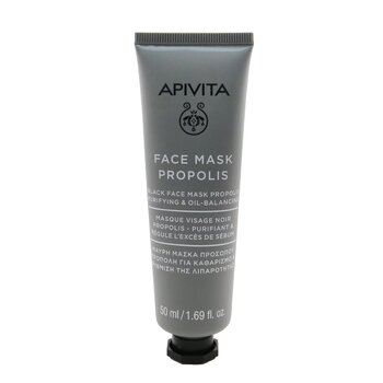 Black Face Mask with Propolis - Purifying & Oil-Balancing (50ml/1.69oz)
