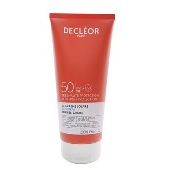 Aloe Vera Sun Gel-Cream SPF 50 (200ml/6.7oz)
