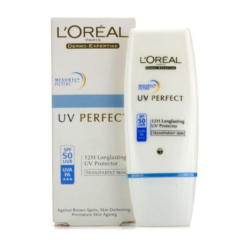 L'Oreal 欧莱雅 多重防护隔离露SPF50/PA+++-#TransparentSkin 有效防晒 保护肌肤 减少斑点 30ml