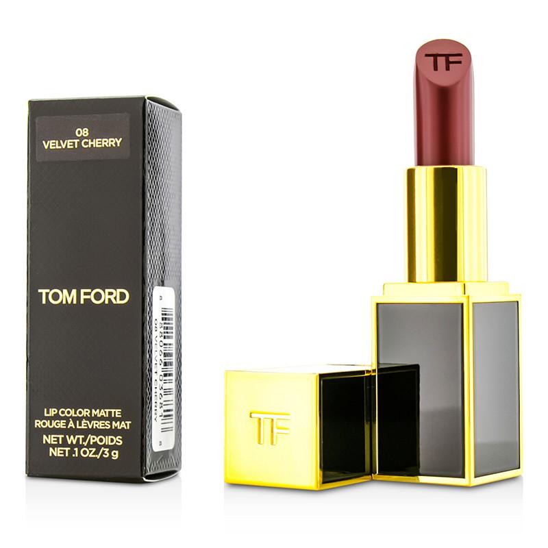 Tom Ford 汤姆福特  黑管唇膏口红 烈焰幻魅唇膏 滋润持久Lip Color Matte  滋润补水  色泽饱满   3g