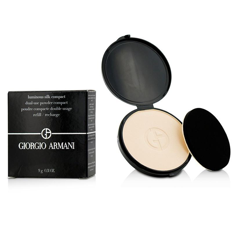 Giorgio Armani 阿玛尼 柔亮自然粉饼(粉芯) 干湿两用粉饼 细腻丝滑 9g