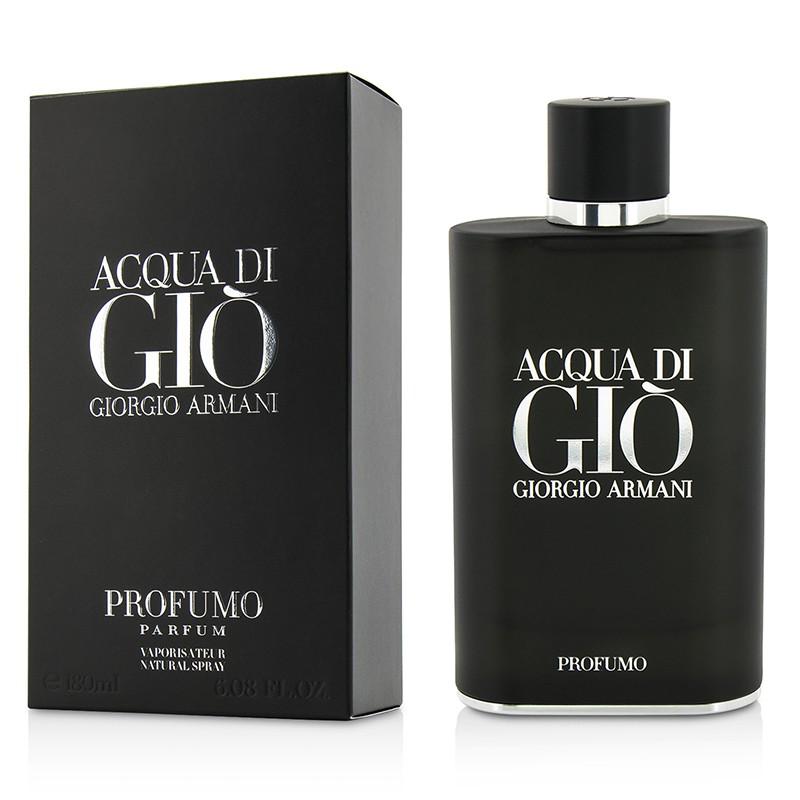 Giorgio Armani 阿玛尼 寄情男士香水(典藏版)Acqua Di Gio Profumo Parfum 迷迭香广藿香 焚香 180ml