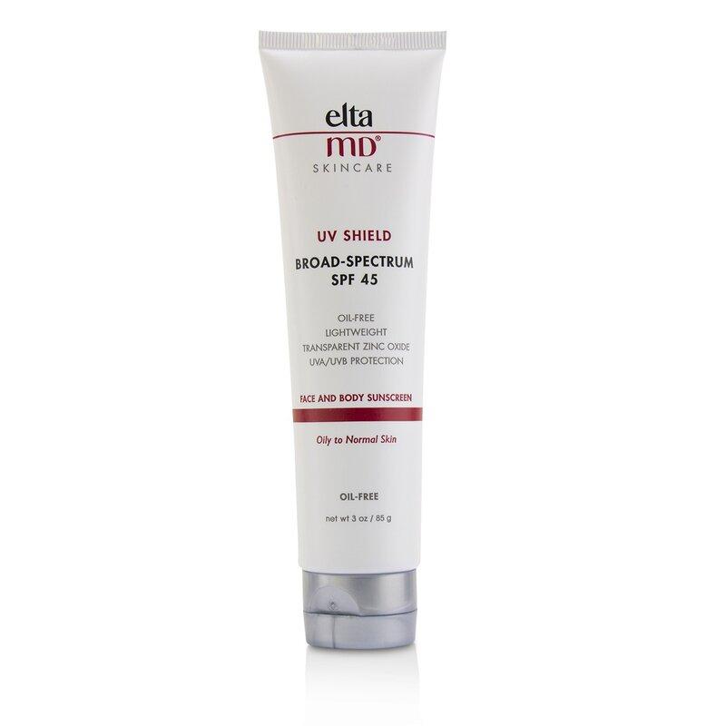 EltaMD 创新防晒  无油防护乳防护霜SPF45 - 油性至中性肌肤适用 轻柔无感 温和防晒 清透细腻 85g