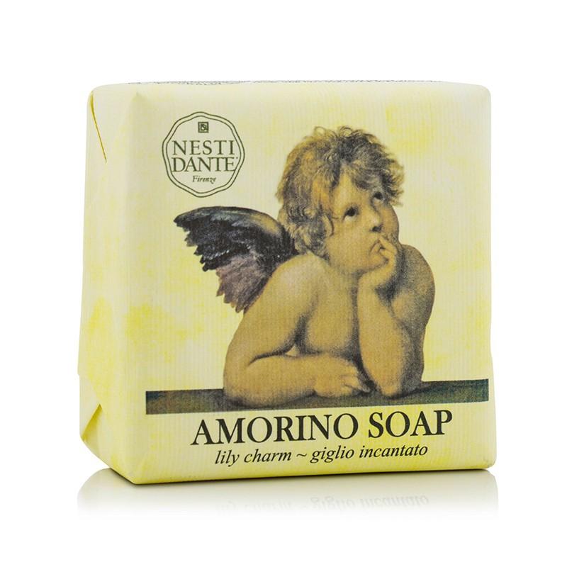 Nesti Dante 内斯蒂丹特 小天使沐浴皂 - 百合 效果持久香气诱人温和清洁 150g