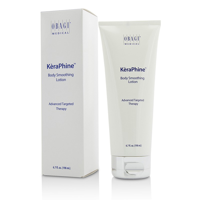 Obagi 欧邦琪 顺滑身体乳 KeraPhine Body Smoothing Lotion 有效去角质 柔软光滑 198ml
