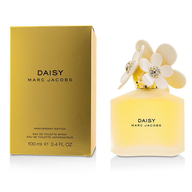 Marc Jacobs 马克·雅可布 雏菊淡香水喷雾(周年纪念版)花香木质调  清新甜美 迷人香气 100ml