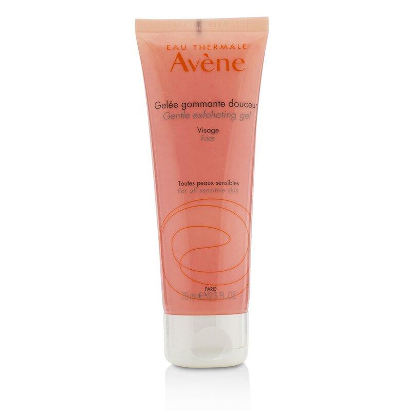 Avene 雅漾  温和去角质净柔磨砂凝胶 - For All Sensitive Skin 深层清洁 去除死皮和老废杂质 75ml