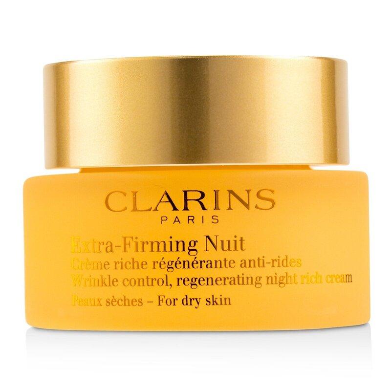Clarins 娇韵诗 (弹簧霜) 焕颜弹力晚安霜 (干性肌肤适用) 滋润紧致 改善肌肤 50ml