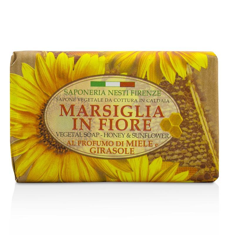 Nesti Dante 内斯蒂丹特 植物香皂 - 蜂蜜和葵花 香薰天然持久温暖纯净光滑清新舒适125g