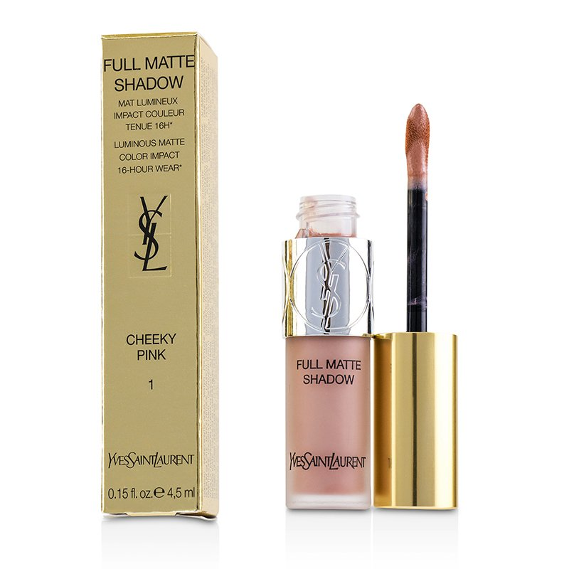 Yves Saint Laurent   圣罗兰(YSL)   雾面眼影蜜  Full Matte Shadow  4.5ml