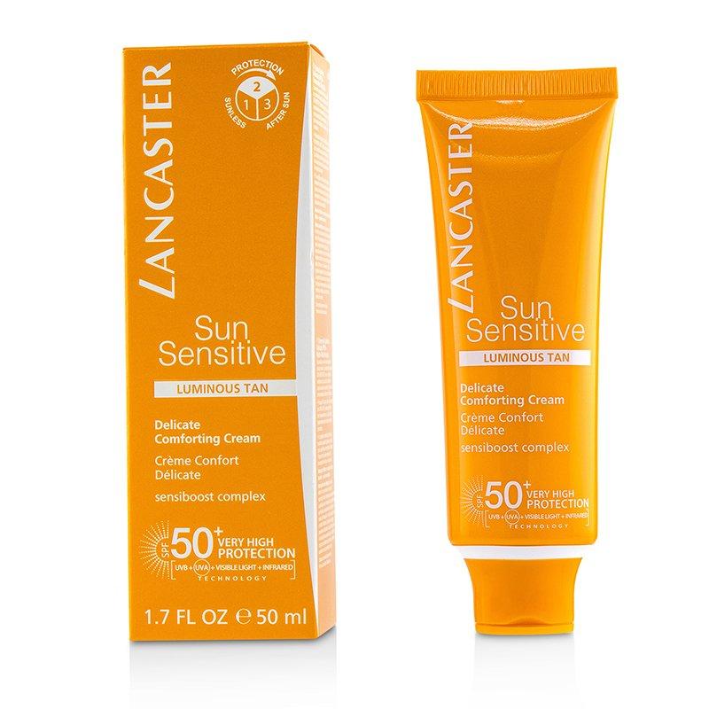 Lancaster 兰嘉丝汀 敏感防护细腻防晒霜 SPF50+ - 亮铜色 缓解肌肤 易于涂抹 50ml