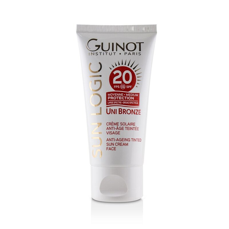 Guinot 维健美  古铜色防晒面霜 SPF 20 延缓老化 防护肌肤 50ml