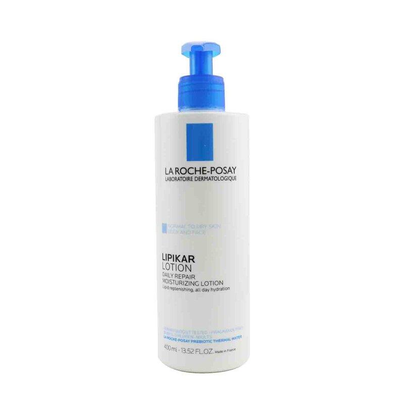 La Roche Posay 理肤泉  日常修复保湿乳液(面部和身体) - 中性至干燥肌肤 轻盈质地 补水保湿  400ml