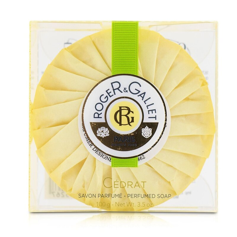 Roger & Gallet 香邂格蕾  柑橘香薰皂 彻底清洁  令肌肤清新光滑 质地细腻 100g