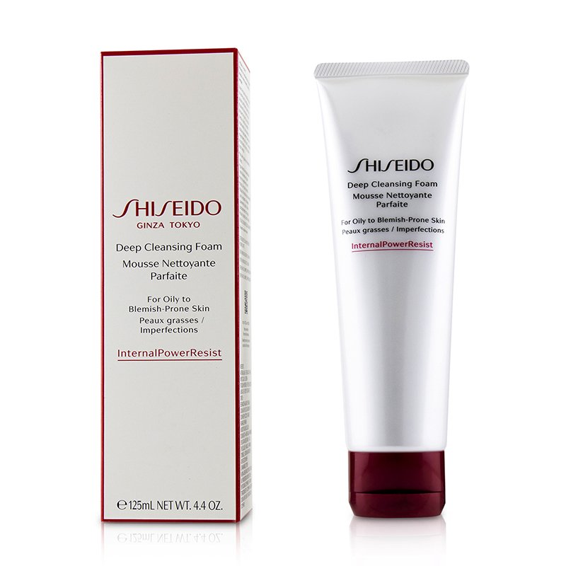 Shiseido 资生堂 肌活净颜洁面膏  细腻柔和 温和清洁 去除杂质 125ml