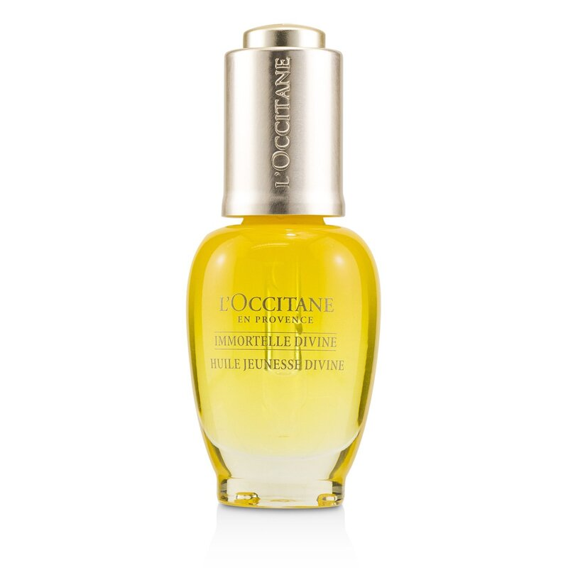 L'Occitane 欧舒丹 神仙青春油 Immortelle Divine Youth Oil 减少皱纹 防止衰老 30ml